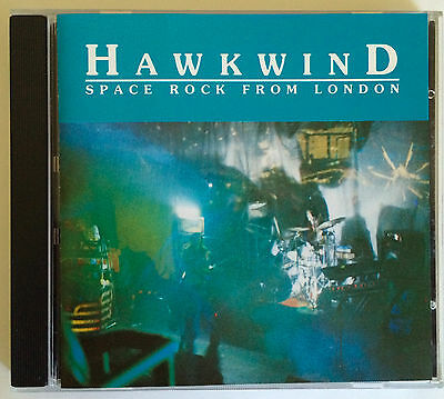 HAWKWIND, Space Rock From London, CD Live 1972 (Nik Turner Lemmy Motorhead) (Fi)