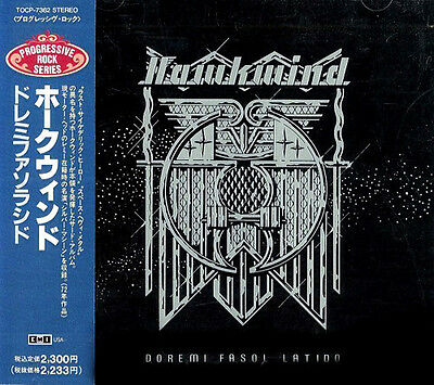 Hawkwind, Doremi, Japan CD, Orig 1st ISSUE +Obi + booklet + Silver Machine! (Fi)