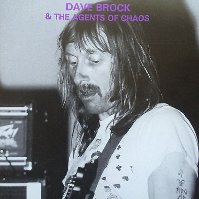 Hawkwind = UNIQUE RARE 2-on-1 CD! Dave Brock + Agents of Chaos (SHARP 1842) (Fi)