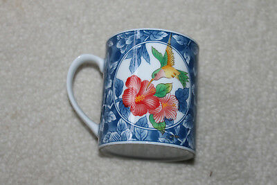 """Very Neat Vintage/Antique Chinese Porcelain bird cup - 3-1/8""""D x 3-1/2""""H"""