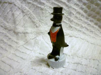 """Vintage OLD CROW Kentucky Straight Bourbon Whiskey 4 1/2"""" tall Bottle Topper"""