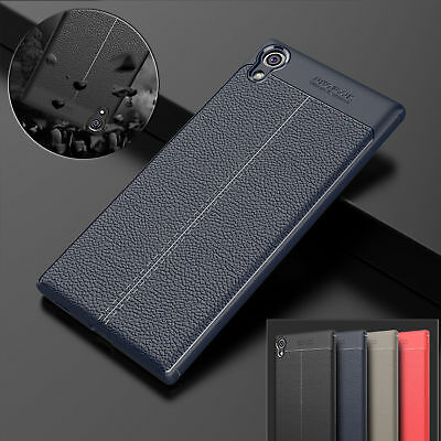 For Sony Xperia Phones Luxury Protective Leather Soft Case Bumper Pattern Cover