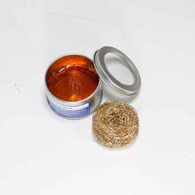 08C Rosin Flux Tools Soldering Iron Tip Cleaner Welding Iron Tip Copper Ball
