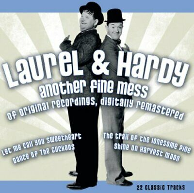 Laurel & Hardy - Another Fine Mess - Laurel & Hardy CD EEVG The Cheap Fast Free