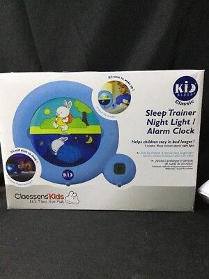 Kid'Sleep Classic Sleep Trainer Blue Unisex Teaches Kids When It's Time to Sleep