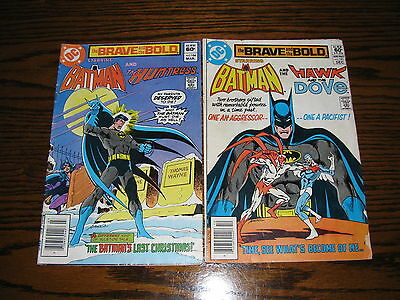 DC- BRAVE and the BOLD #181 and #184 Comic Lot!! 1981  VG/FN