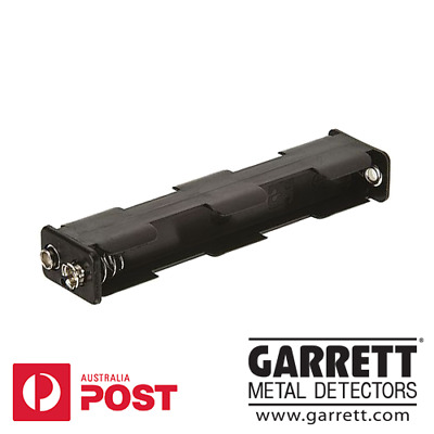Garrett AT Pro and Gold Metal Detector AA Battery Pack (Case, Holder)