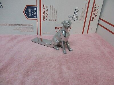 Vintage Hound Dog Door Stop / Wedge Cast Aluminum