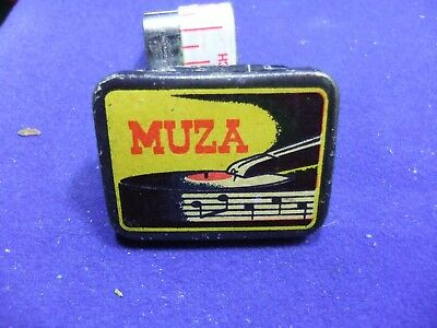 vtg needle tin muza needles gramophone record