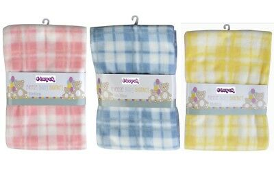 Soft Fleece Baby Blankets ~ 60 x 90