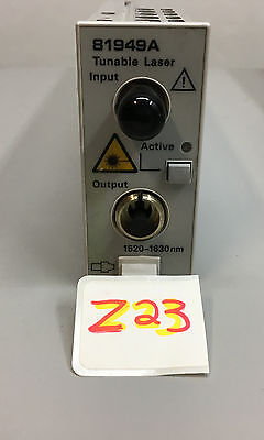 Agilent 81949A Compact Tunable Laser TLS with option 071, 1520nm-1630nm
