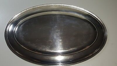 Wiskemann silver plated oval serving tray