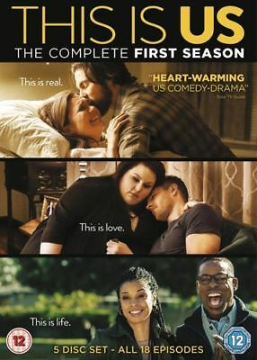 THIS IS US complete season 1 Region 2 New DVD Quick Dispatch