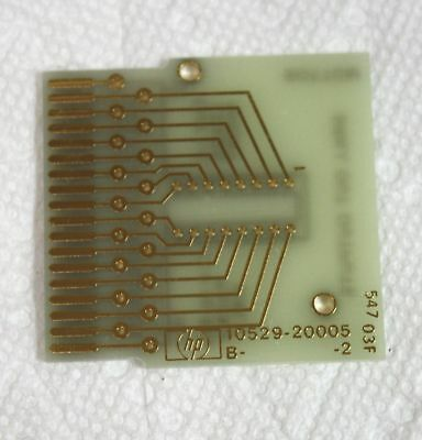 NEW HP 10529-20005 Reference IC Card for 10529A Logic Comparator