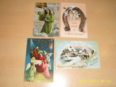 Christmas  - Collection Of Vintage Greeting  Postcards