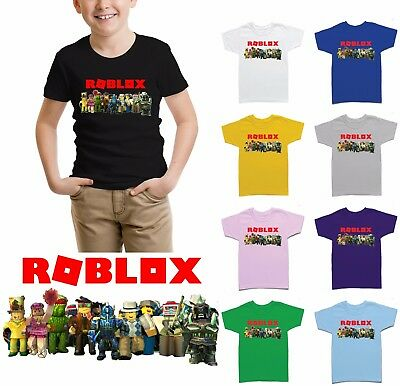 Roblox Family Children Gamers Kids Boys Girls T Shirt-URB101