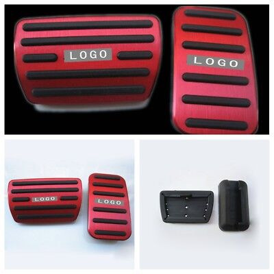 Red Car Foot Pedal Pad Cover Fits Accelerator Brake For 2016 Honda Civic 10th