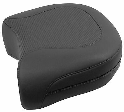 Mustang Textured Recessed Rear Seat - Harley-Davidson FLHP