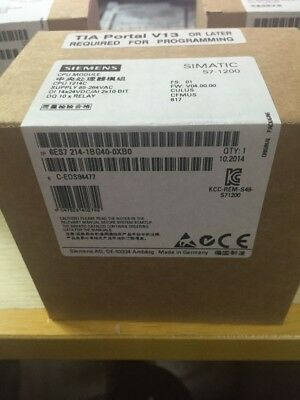 1PC New Siemens S7-200CN PLCS71200 6ES7214-1BG40-0XB0