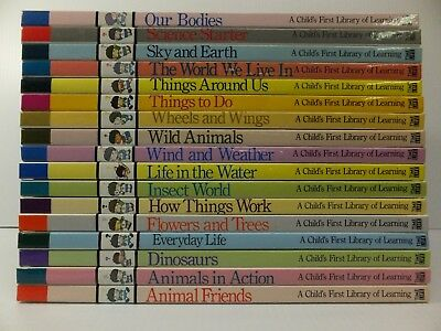 Time Life: A Child's First Library of Learning 17 Volume Lot New Hardcover
