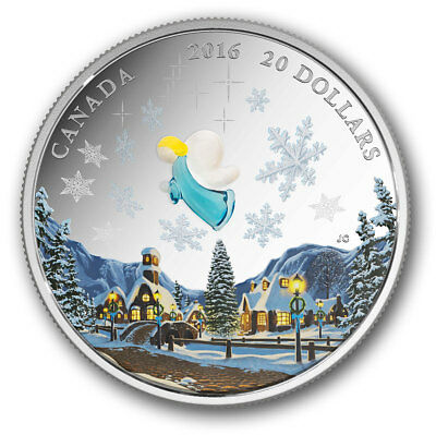 Stamp Pickers Canada RCM 2016 My Angel 99.99% Pure Silver Proof $20 Coin