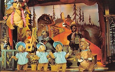 Disneyland postcard Country Bear Jamboree