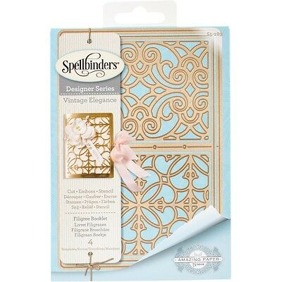 Spellbinders Shapeabilities Dies - Filigree Booklet