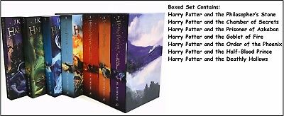 Harry Potter Box Set: The Complete Collection Children's by J. K. Rowling (Multi