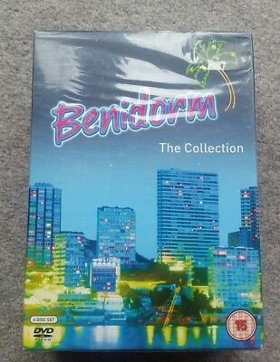 Benidorm Series 1-3 and Summer Special DVD Box Set New and Sealed