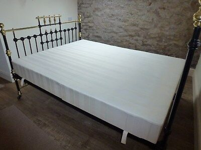 5ft King Size  Deep Firm Bed Base ideal for Antique Victorian brass & iron beds