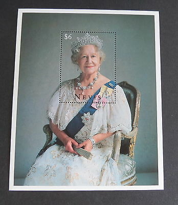 Nevis 1995 Queen Mother 95th Birthday MS MNH UM unmounted mint