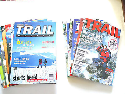 Trail Walker & Trail Magazines Back Issues.