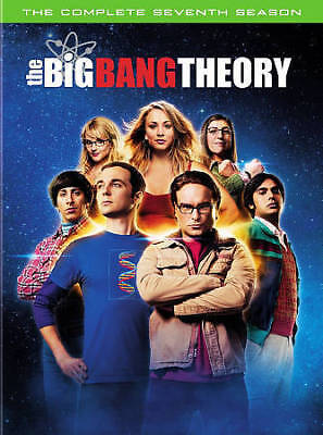 The Big Bang Theory: The Complete Seventh Season (DVD, 2014, 3-Disc Set) NEW