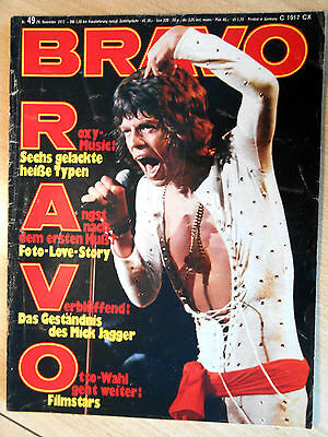 Bravo 49/1972 Rolling Stones, Moody Blues  -  TOP