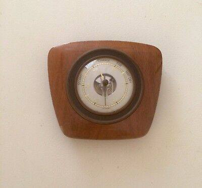 BEAUTIFUL VINTAGE WALL BAROMETER - 1950's West Germany