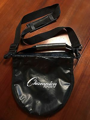 Champion Sports Shot and Discus Carrier Bag With Shoulder Strap Heavy Duty