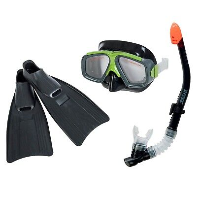 Intex 55959Surf Rider Snorkel Mask and Flippers Diving Kit Adult Size