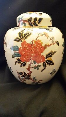 James Kent Old Foley Imari style large ginger jar in Eastern Glory pattern