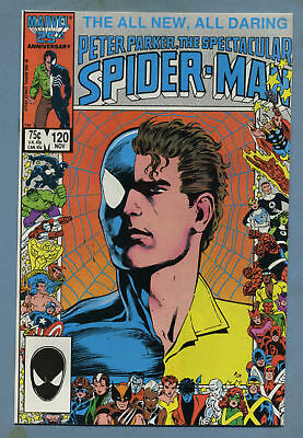 Spectacular Spider-Man #120 1986 Marvel Comics