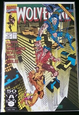 WOLVERINE Issue # 42 (Marvel July 1991 - Marvel: Cable, Sabretooth)