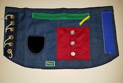 Posey therapy overlay lap apron 7410