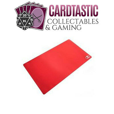 Ultimate Guard Play Mat Monochrome Red 61x35cm