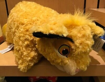 Disney Parks Lion King Simba Pillow Pet Plush Dream Friend - New