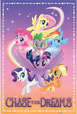My Little Pony Group Chase Your Dreams Poster