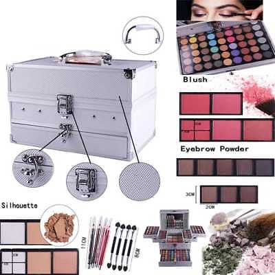 Make Up Kit Set Vanity Case 132color Cosmetics Collection Carry Box Urban Beauty