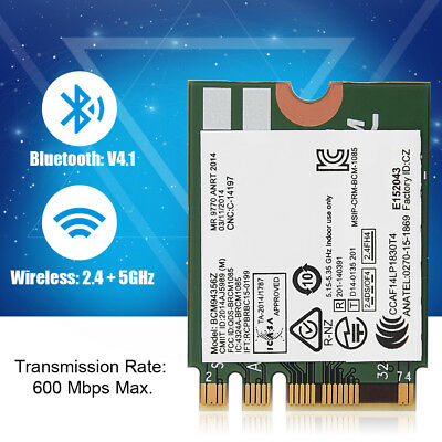 BCM94356Z Dual Band 802.11ac NGFF 600Mbps WiFi BT 4.0 Wireless Card For Lenovo