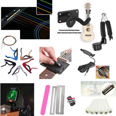 Rainbow Strings Guitar Tone Clips Fretboard Cleaner Hanger Guitar Accessories MG