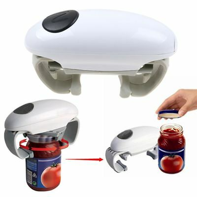 New Automatic Electric Jar Opener One Touch Can Tin Opener Kitchen Tools Gadget