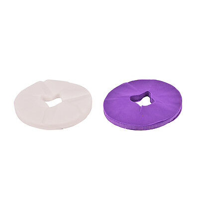 100pcs Disposable Soft lightweight Spa Massage Bed Table Face Hole Cover Pads FT