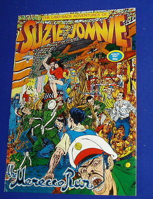 Suzie and Jonnie . UK Underground comic. Cannabis 1981. NEW.